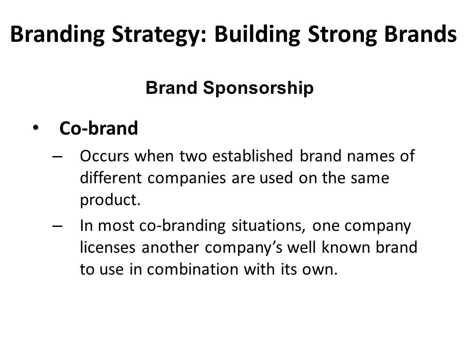 effectiveness of sponsorship strategies The importance of an effective marketing strategy  marketing strategies often require company-wide  and embarrassment as a result of its sponsorship of the.