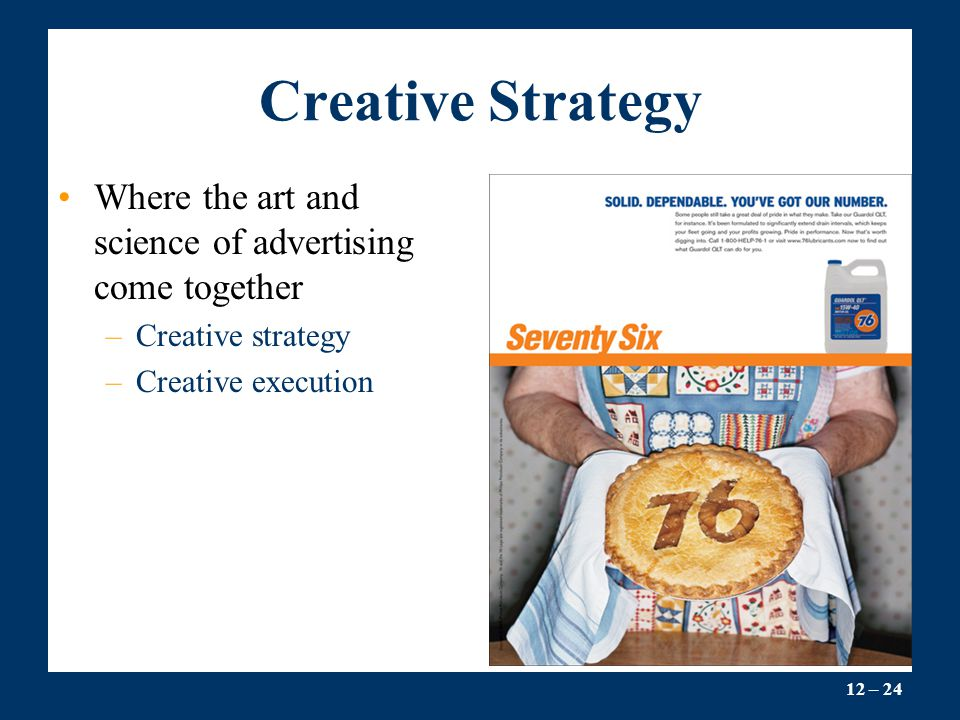 the creative aspects of advertising strategy Whether you need a new logo, website, video, marketing campaign, or ebook created for your business, the key to making the project a success starts with having a thorough and well-thought-out creative brief a creative brief is a document that explains the ins and outs of a project for the creative.