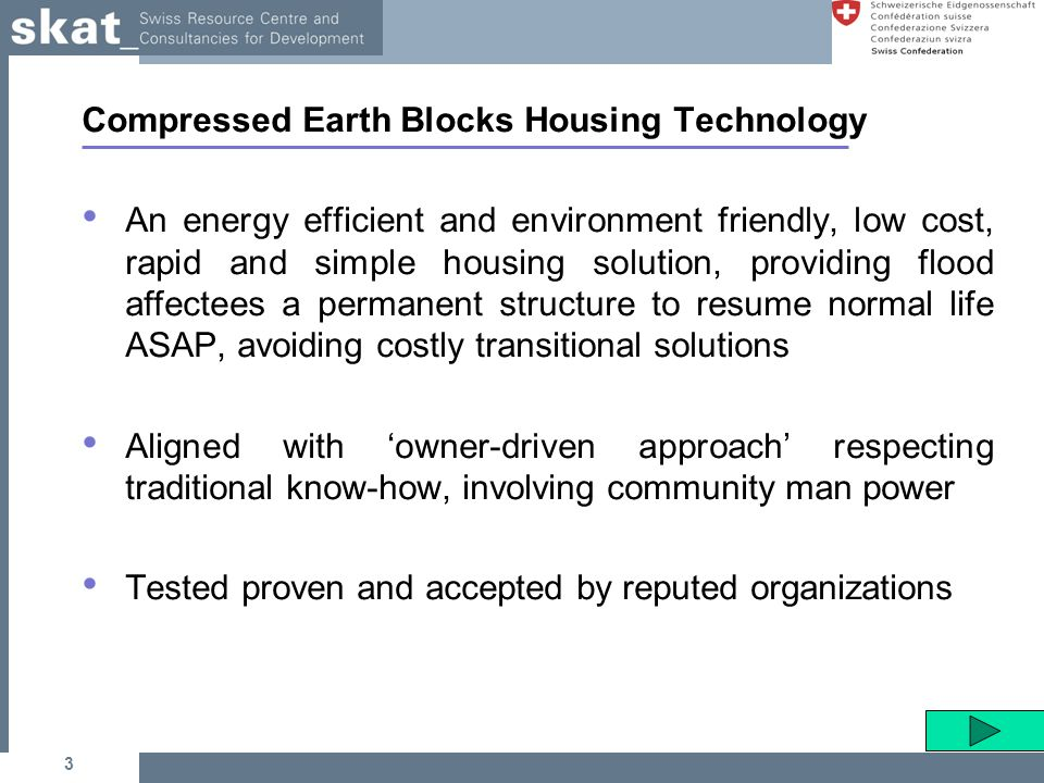 Housing settlement through reinforced mud blocks ppt for Low cost housing solutions