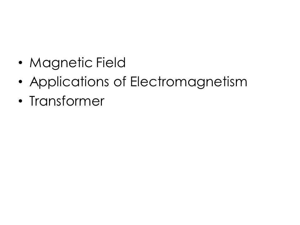 electromagnetism and magnetic field In the electromagnetism, an electric current is produced by magnet so magnetic field is generated by passing a current through a conductor and conductor behaves like a.