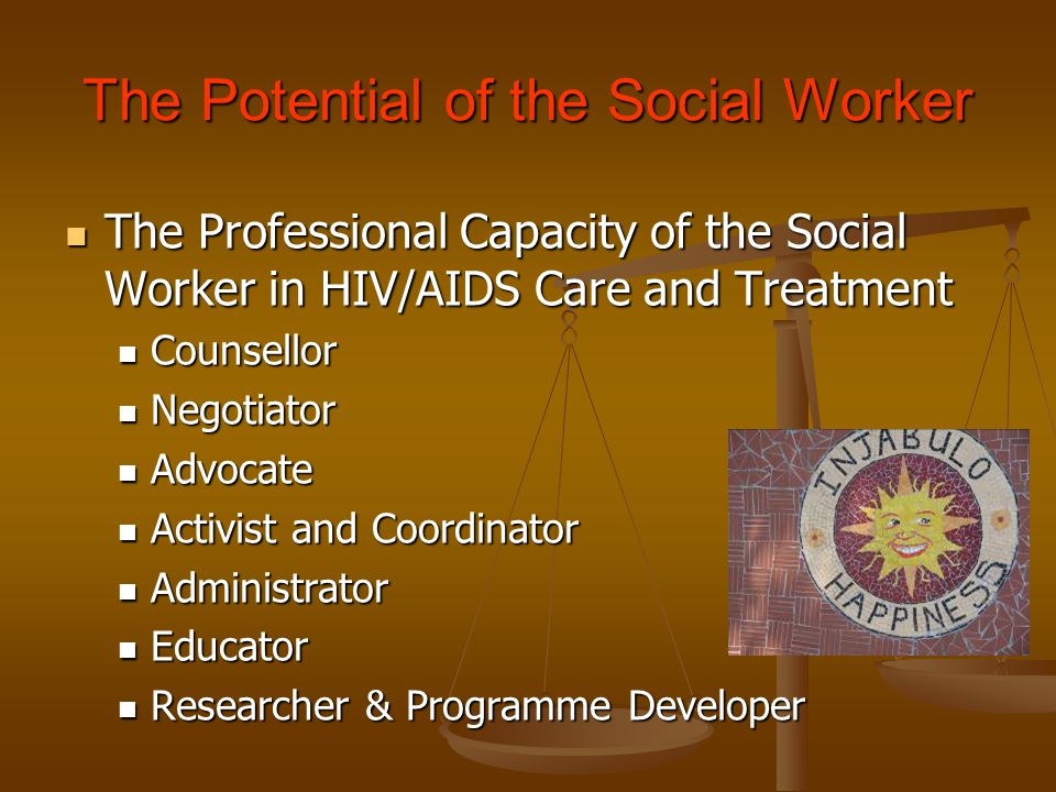 The Potential of the Social Worker