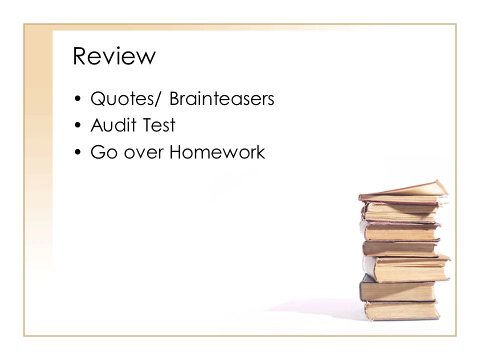 audit homework Accounting auditing audit objectives for accounts receivable cutoff tests why let homework stress you click the button, place an order and relax, somebody will do the rest for you why choose us experienced university homework centre premium online homework library & research.