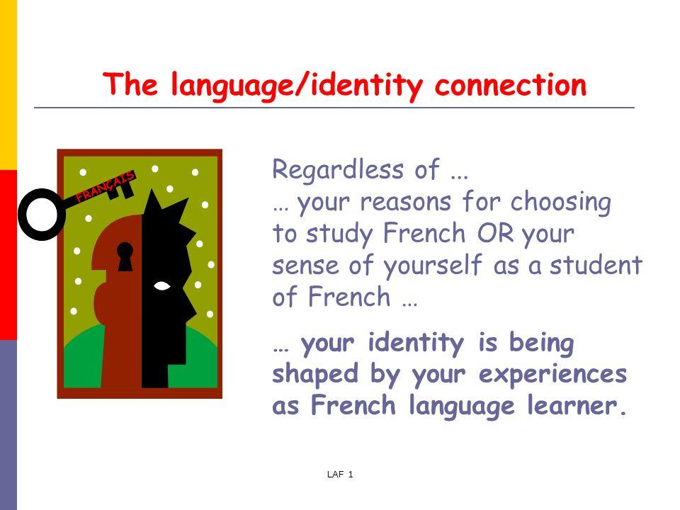 essay language identity
