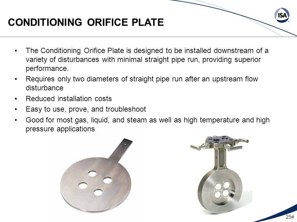 types of orifice plate pdf