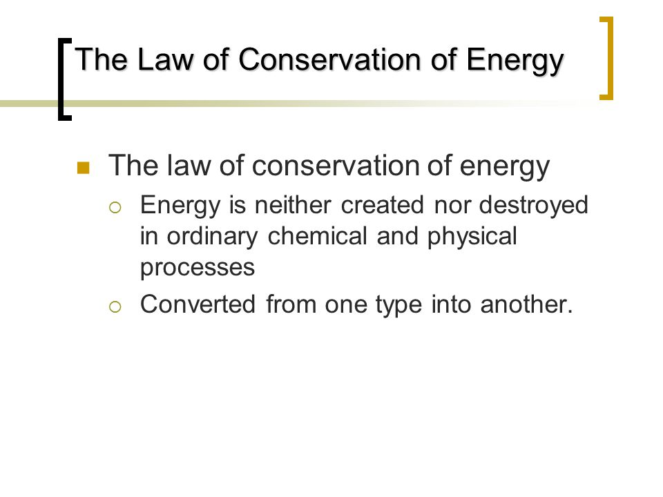 Energy Relationships in Chemistry - ppt video online download