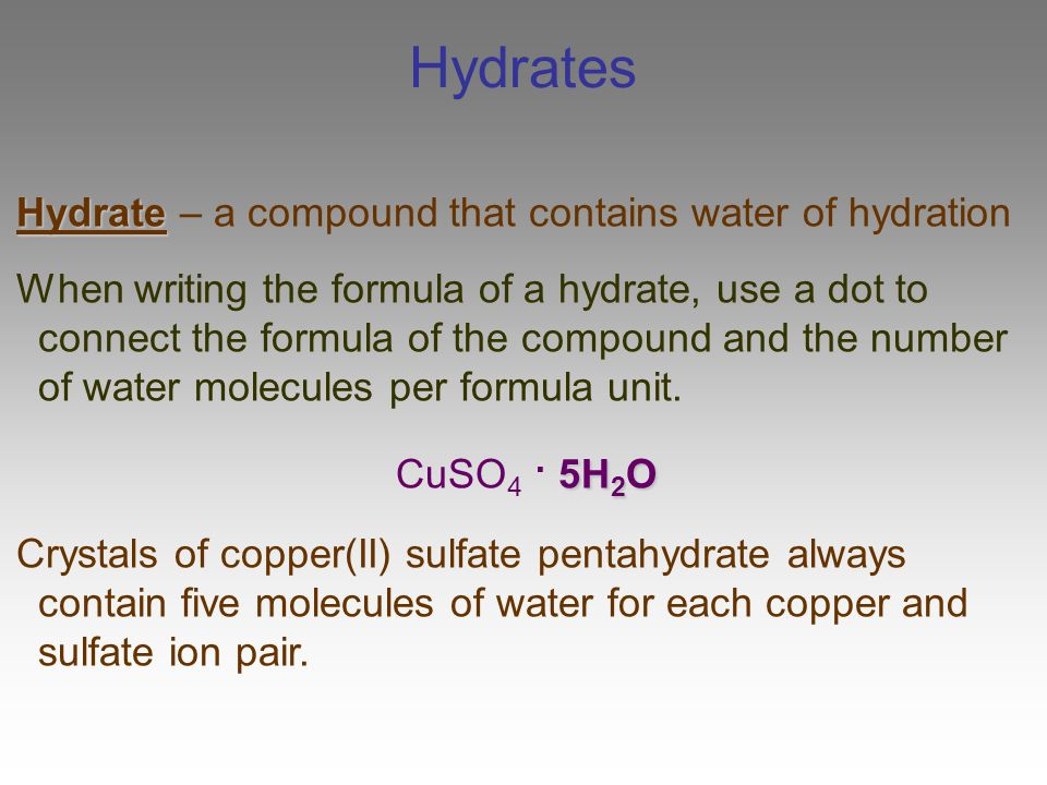 heat hydration of cuso4 332 as physical chemistry - enthalpy changes  the enthalpy of hydration of copper(ii) sulfate  1 heat losses to surroundings by conduction, .