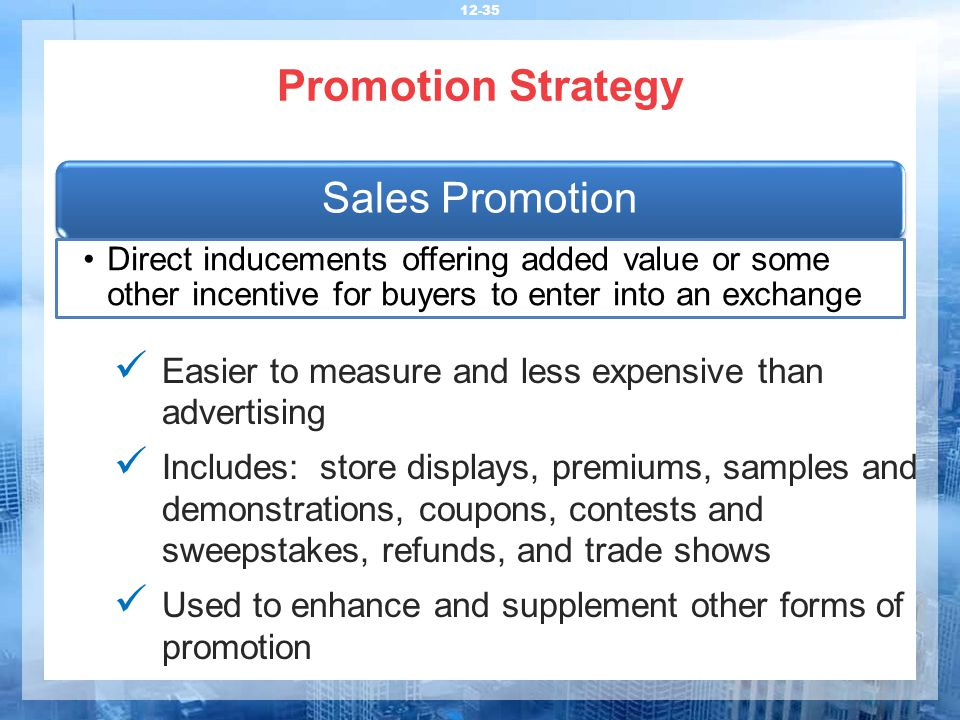 promotional strategies examples