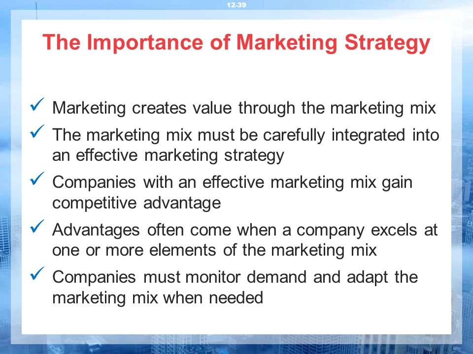 the importance of marketing plan in The importance of planning the preparation of marketing plans can be viewed as a welcome distraction from the everyday running of a business, providing the opportunity to put in some solid thinking about where the business needs to be going.