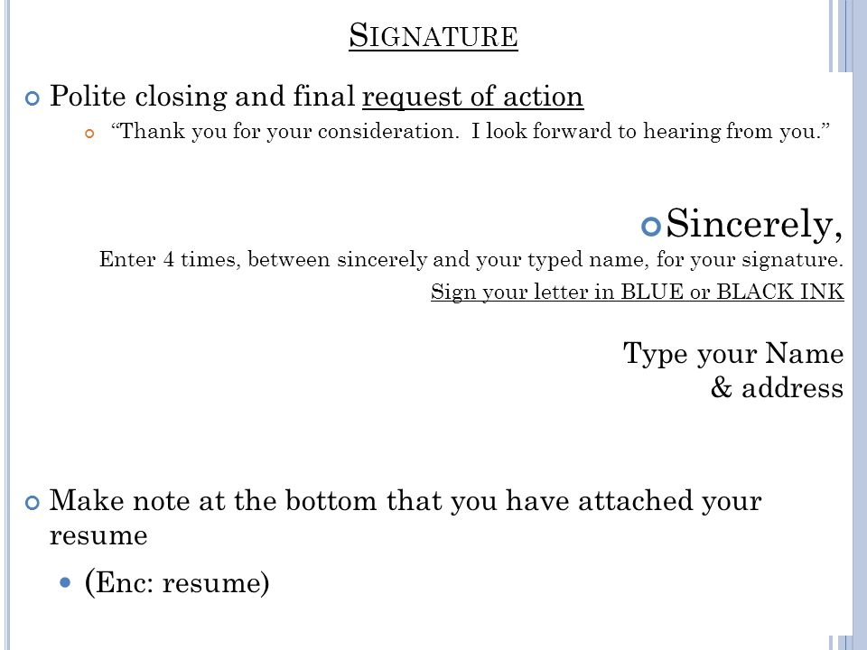 thank you for your resume letters