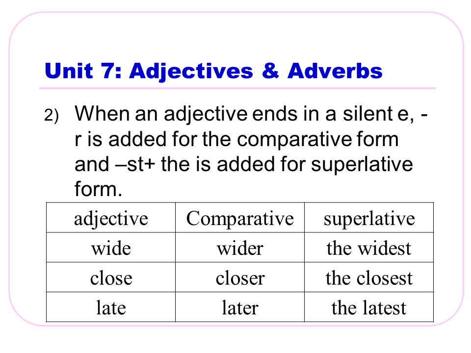comparative and superlative adjectives and adverbs pdf