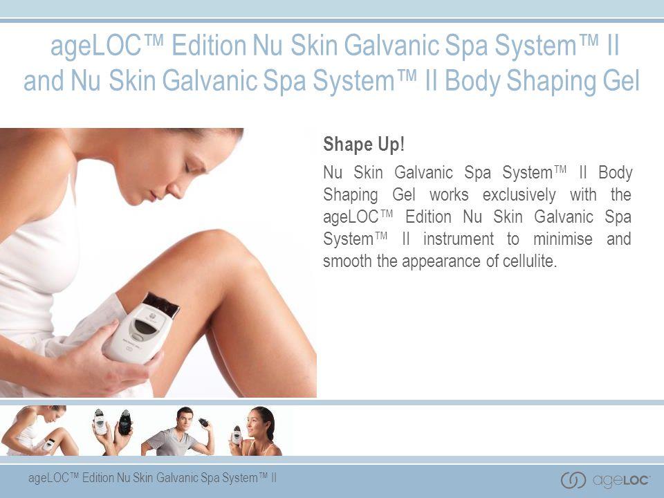 Galvanic Spa  Body Shaping Gel
