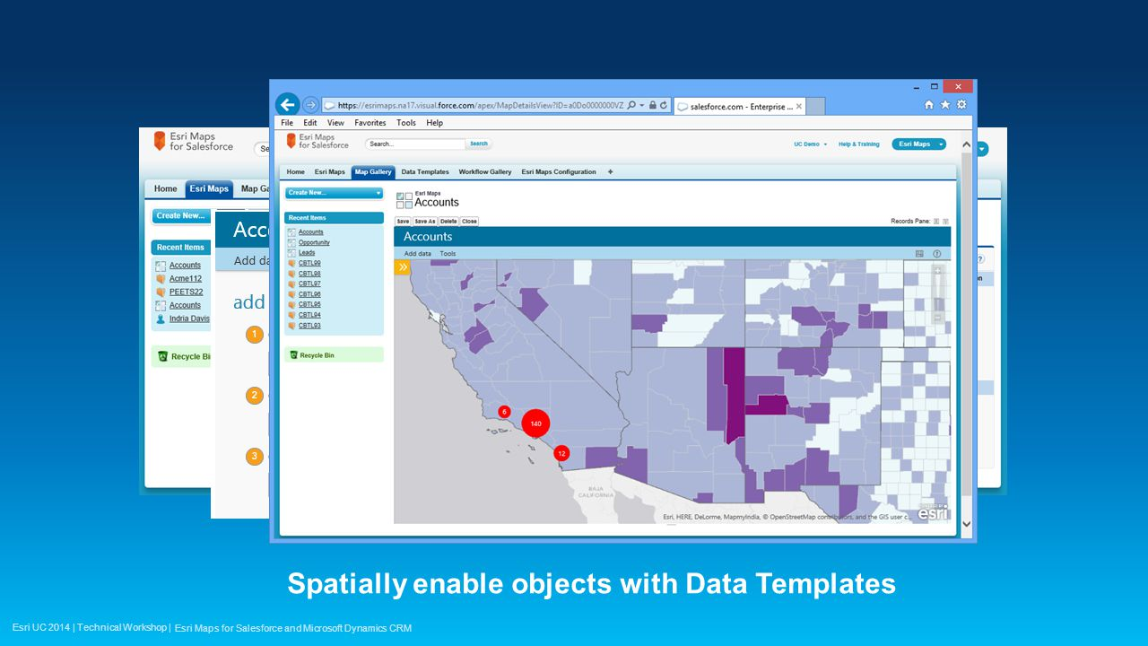 how to create data map in crm