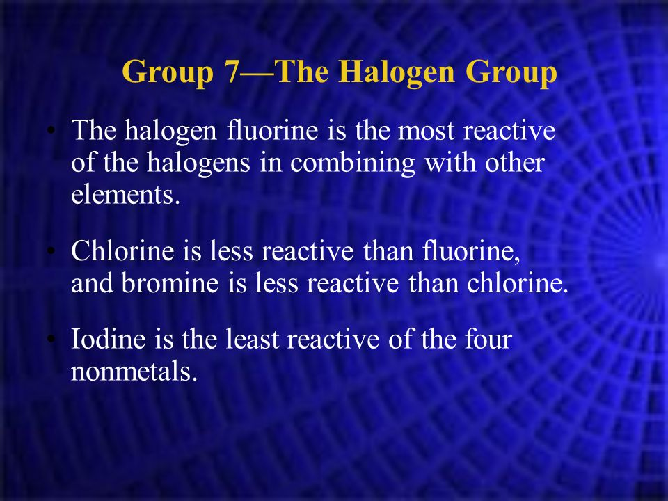 Why Are Fluorine And Chlorine Gases At Room Temperature