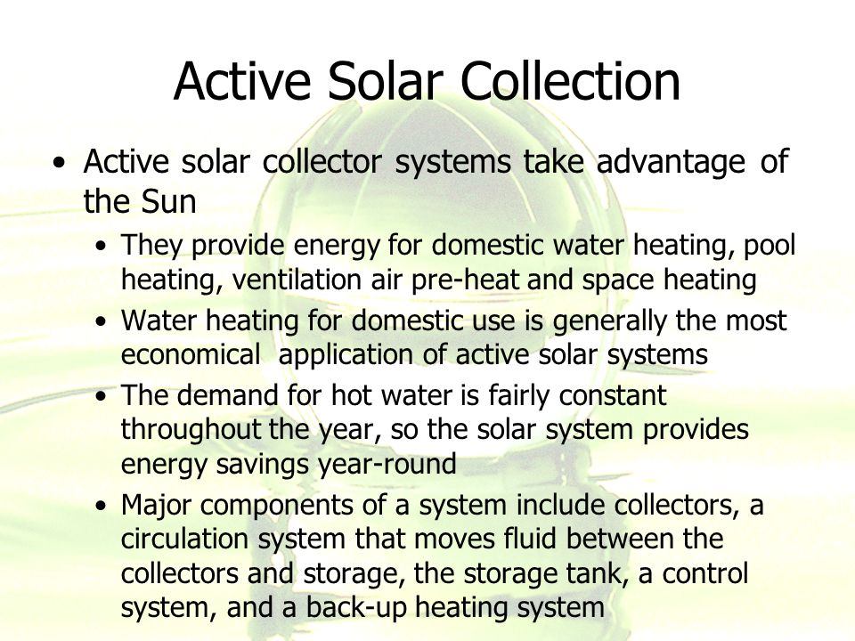 Sustainable building design ppt download for Most economical heating system