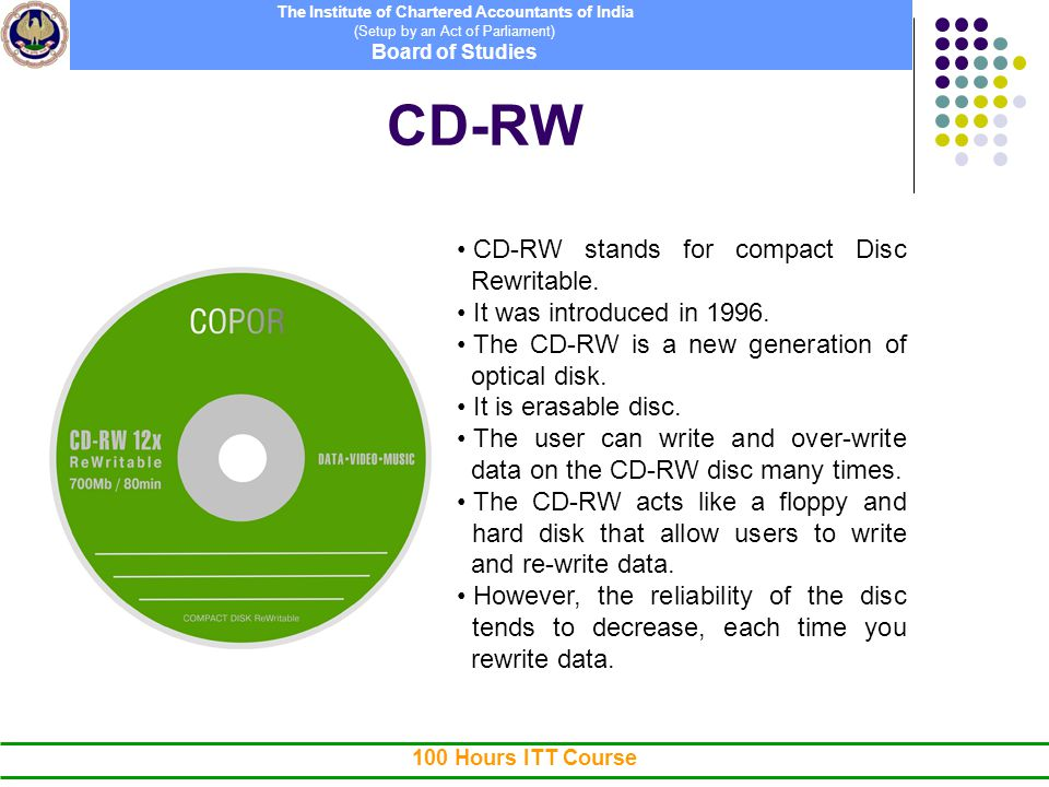 How to overwrite a rewritable cd music