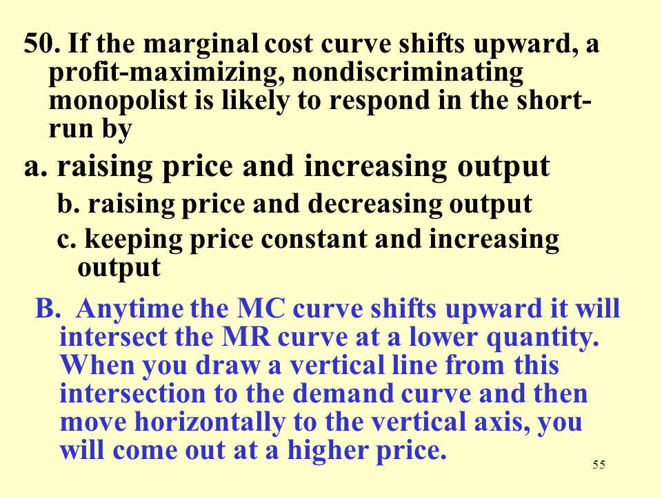 marginal cost and tutorial chapter Visualizing average costs and marginal costs as slope about transcript next tutorial labor and marginal product revenue show all questions (10) because the extra cost to produce the next unit (marginal cost.