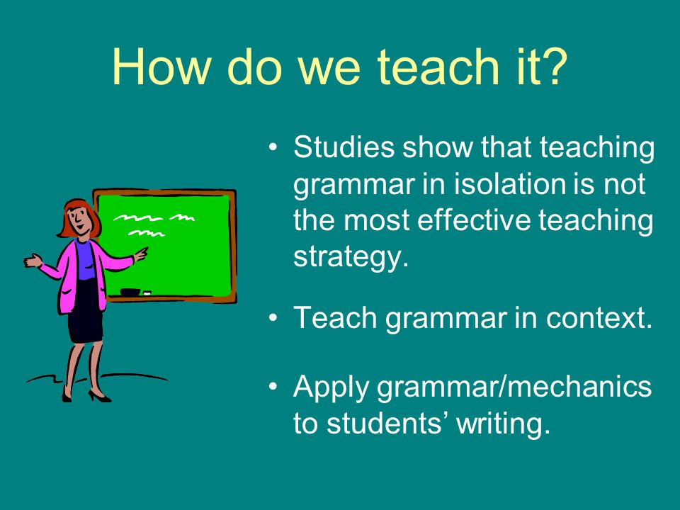 teaching grammar in context pdf