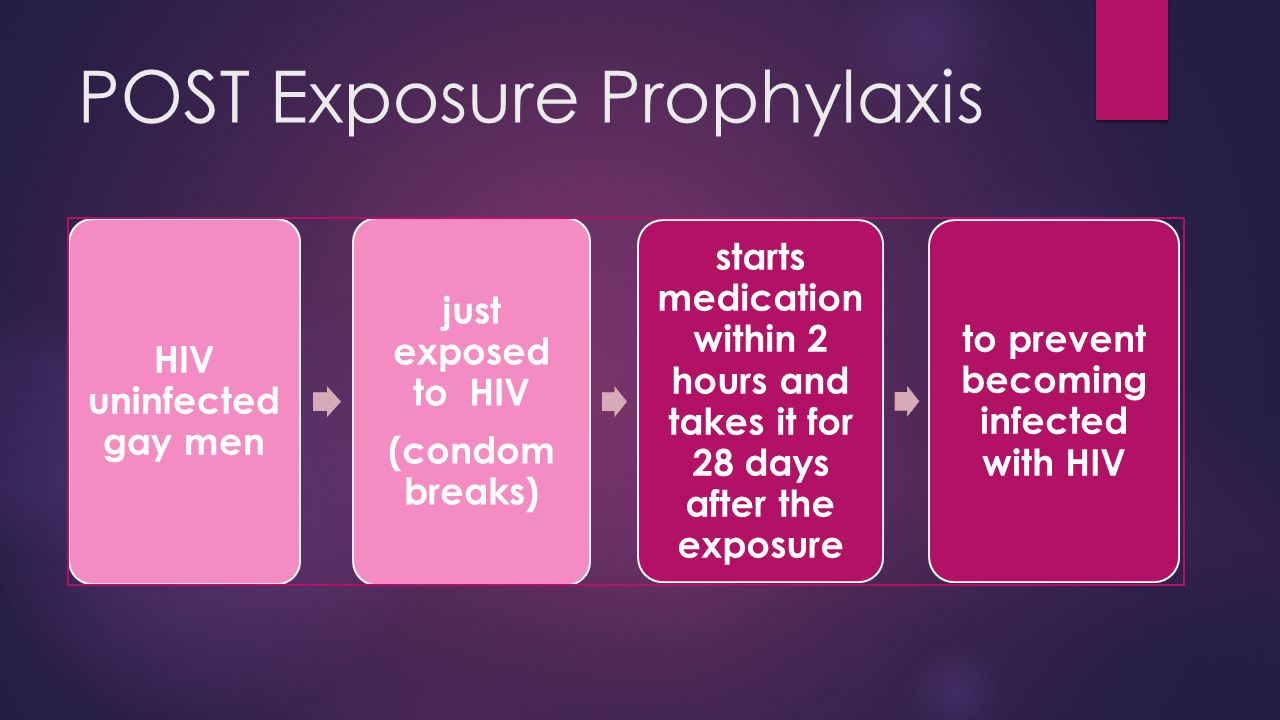 POST Exposure Prophylaxis
