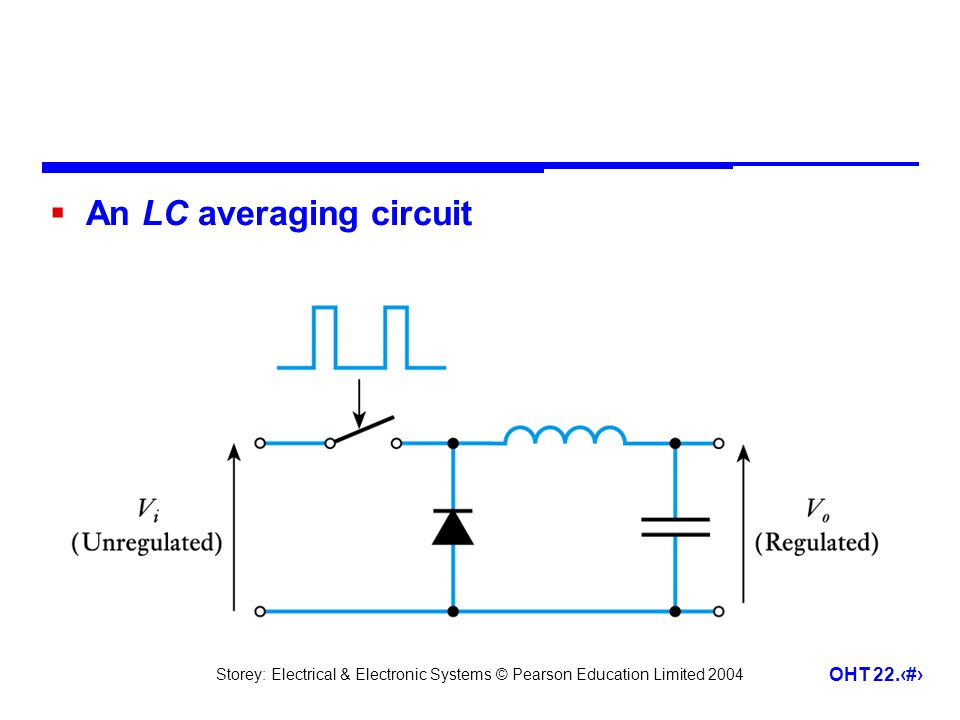 An LC averaging circuit