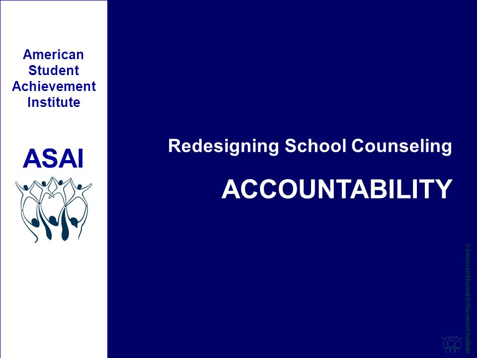 accountability in school counseling program University of south florida scholar commons graduate theses and dissertations graduate school 11-4-2010 school counselor accountability practices: a.