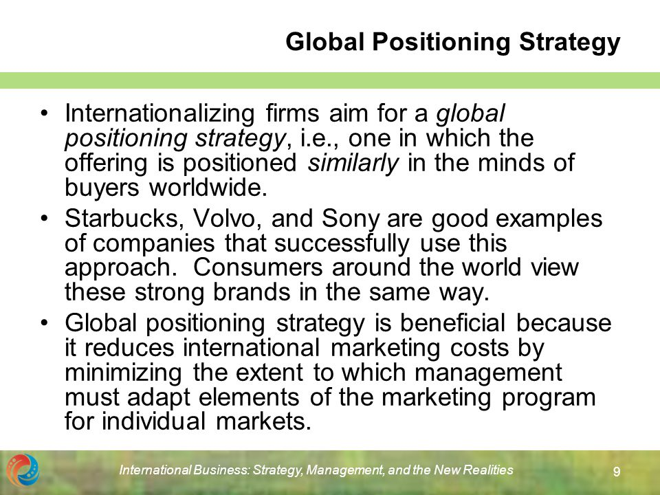 adapting international marketing program to foreign markets What is international marketing introduction to international marketing international marketing is simply the application of marketing principles to more than one country  however, there is a crossover between what is commonly expressed as international marketing and global marketing, which is a similar te.