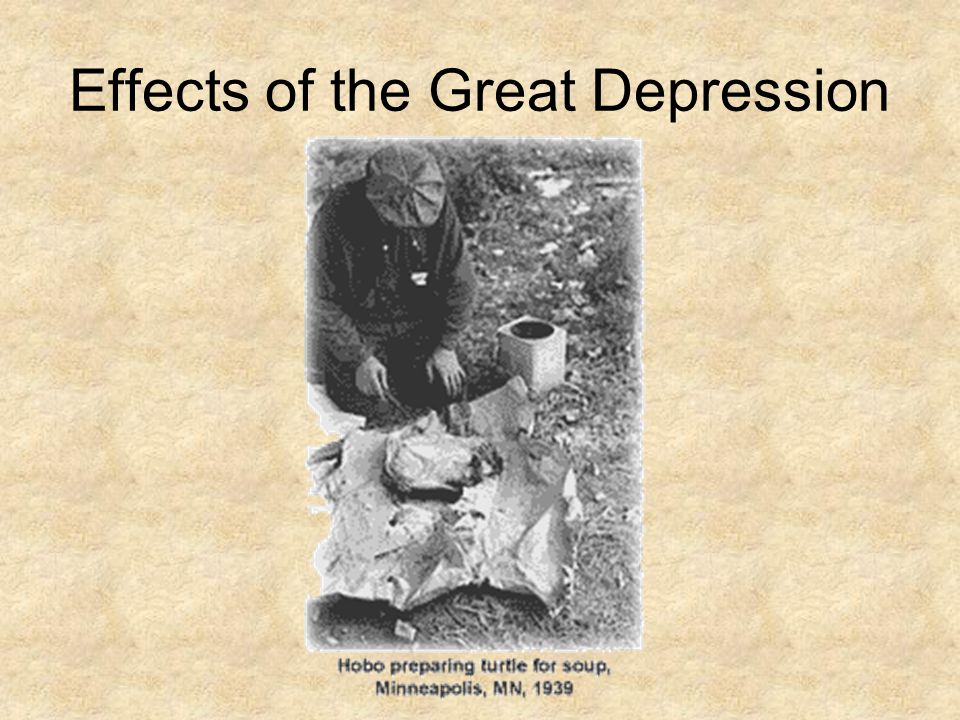 impacts of the great depression The great depression was a devastating and prolonged economic recession beginning on october 29, 1929 following the crash of the us stock market  find great value stocks  the impact of .