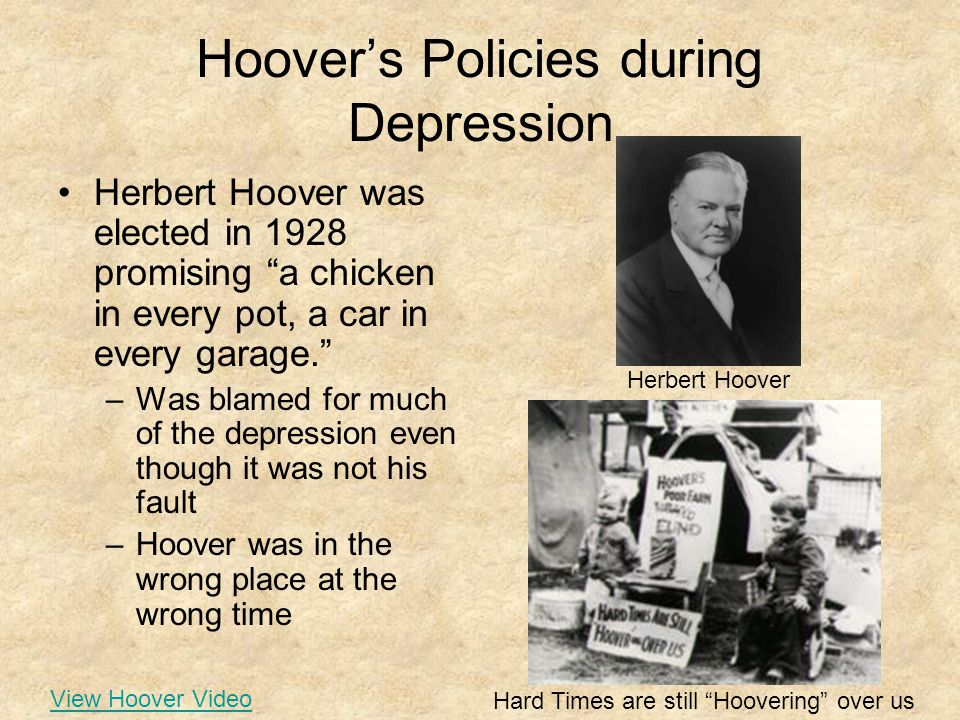 A Chicken In Every Pot And A Car In Every Garage U.S. History: Great De...