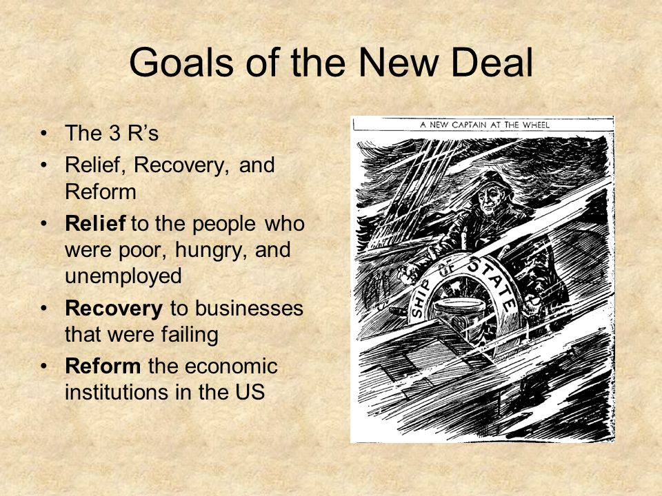 the new deal reforms essay Sample essay on economic effects of the new deal the great depression was a challenging period for the american society and the world general it is a term that described the social, economic and political situation.