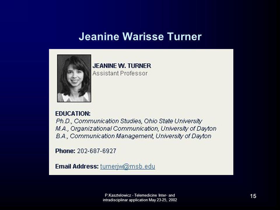 Jeanine Warisse Turner