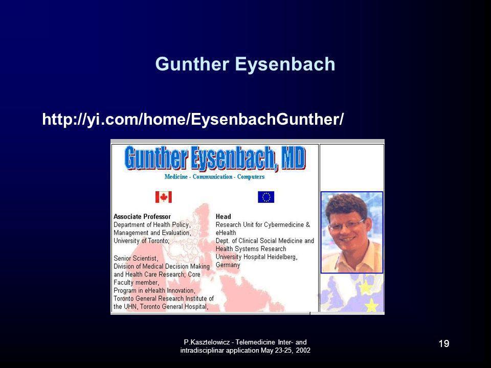 Gunther Eysenbach http://yi.com/home/EysenbachGunther/