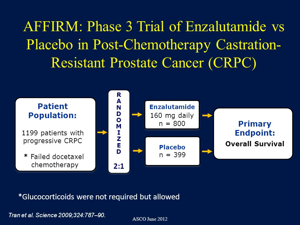Enzalutamide in Metastatic Prostate Cancer before ...