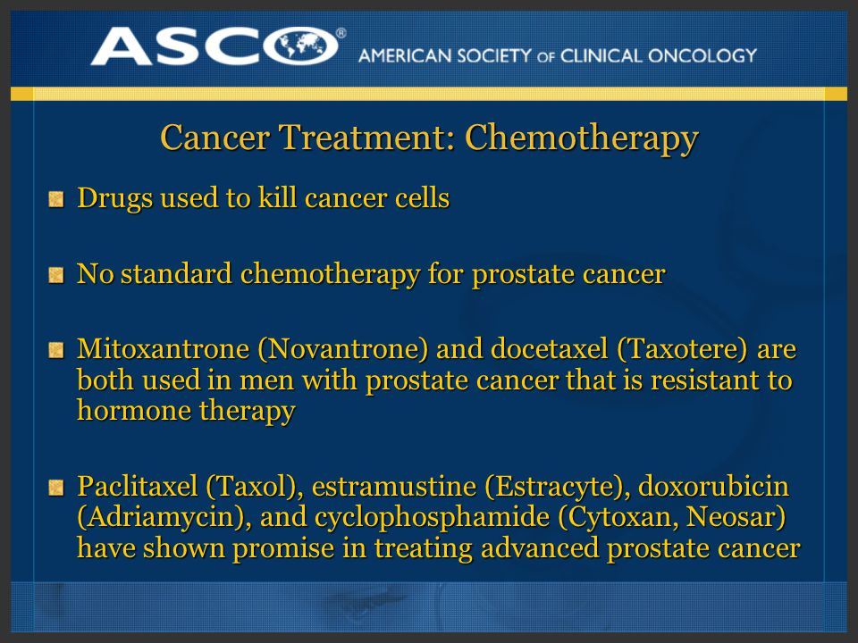 Cancer Treatment: Chemotherapy