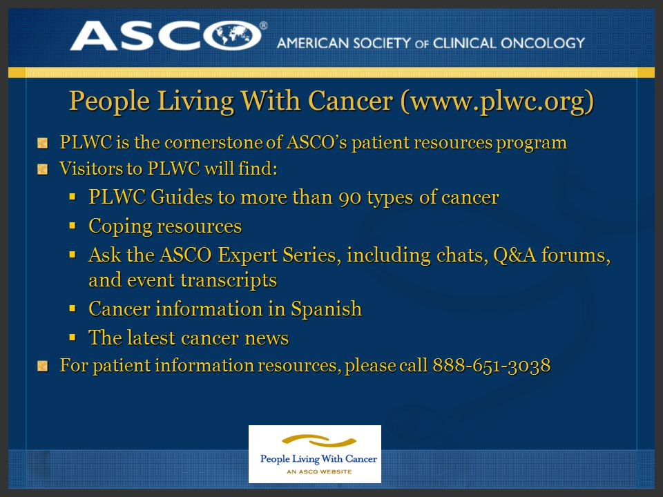 People Living With Cancer (