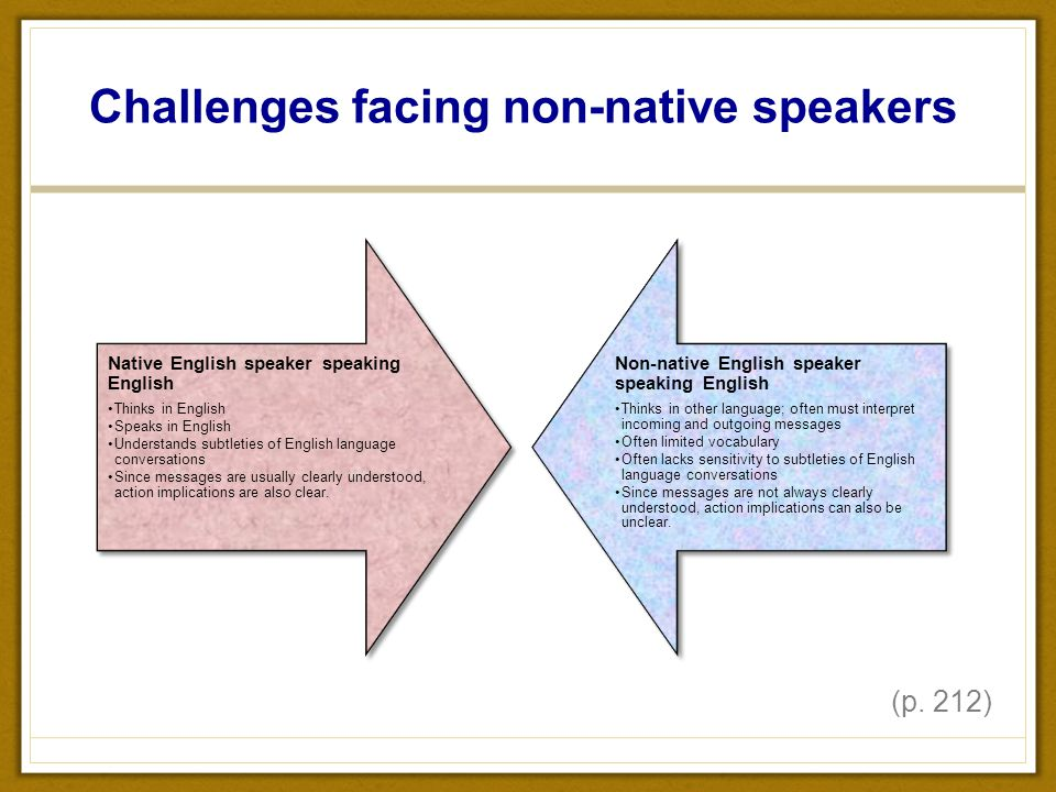 nonnative speaker in english Learning english for a long time but still can't speak well these 3 english  speaking rules will allow you to learn english naturally.