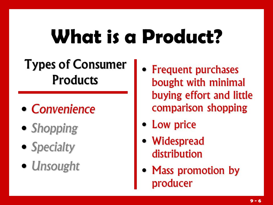 distribution of an unsought product Extensive distribution is the primary marketing strategy the product must be   learning objectives discuss the concept of unsought goods as a type of product .