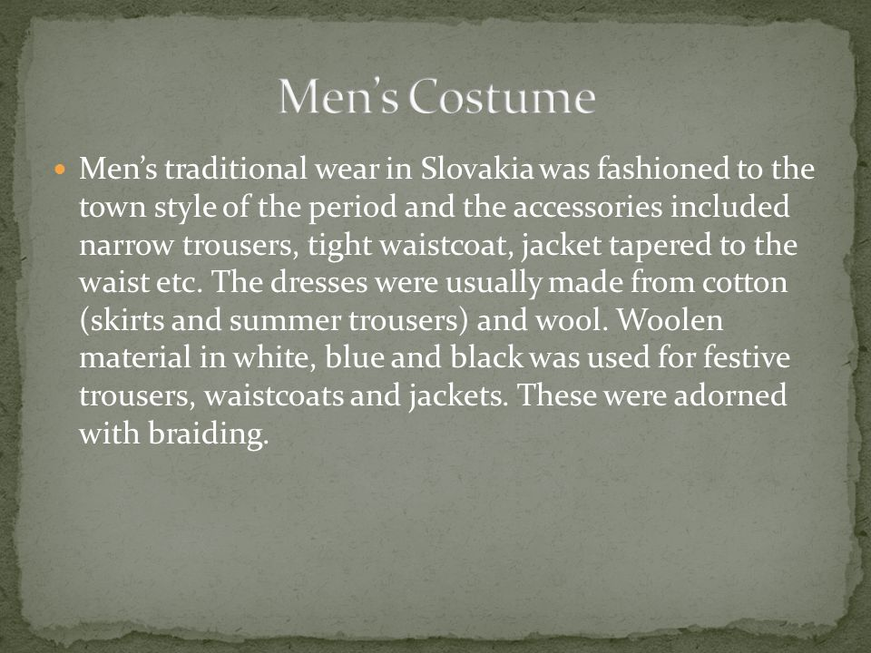 Traditional Costumes Of Europe Ppt Video Online Download