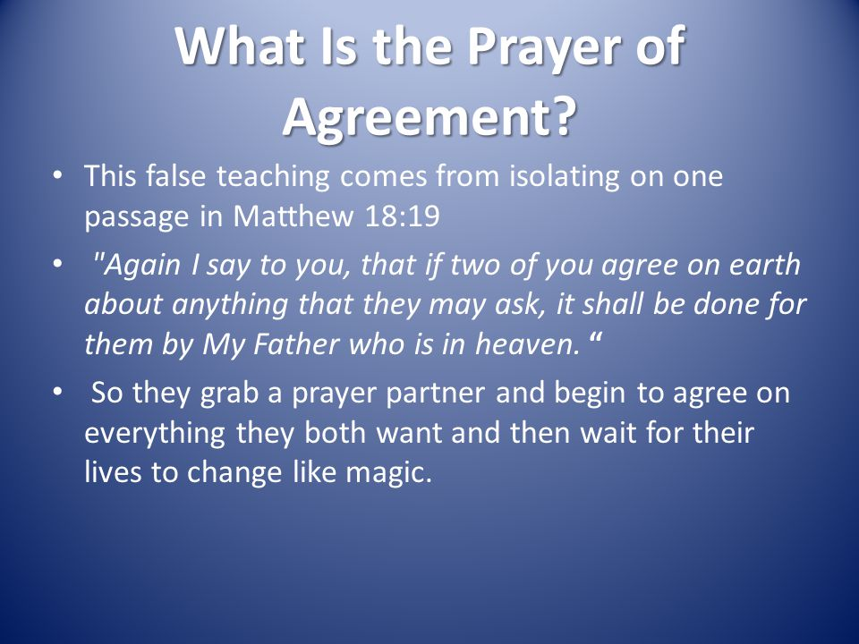 The kingdom of god prayers of agreement ppt download what is the prayer of agreement platinumwayz