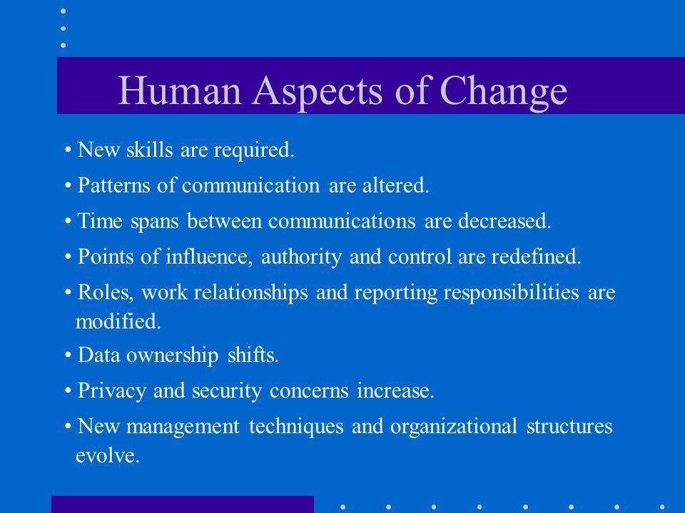 human relationships and change management Browse change management and employee relations content selected by the human resources today community.