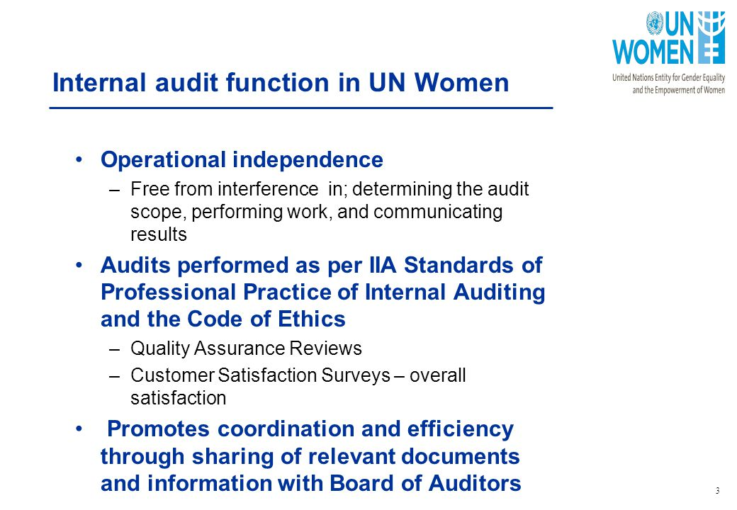 Report On Internal Audit And Investigation Activities  Ppt Download