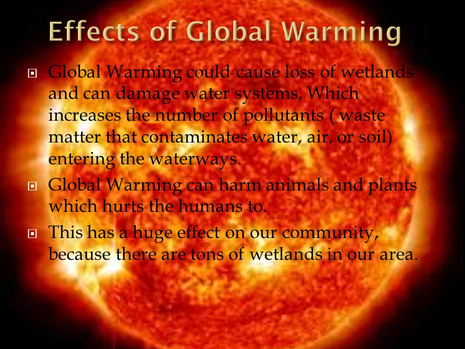 causes and effects of global warming pdf