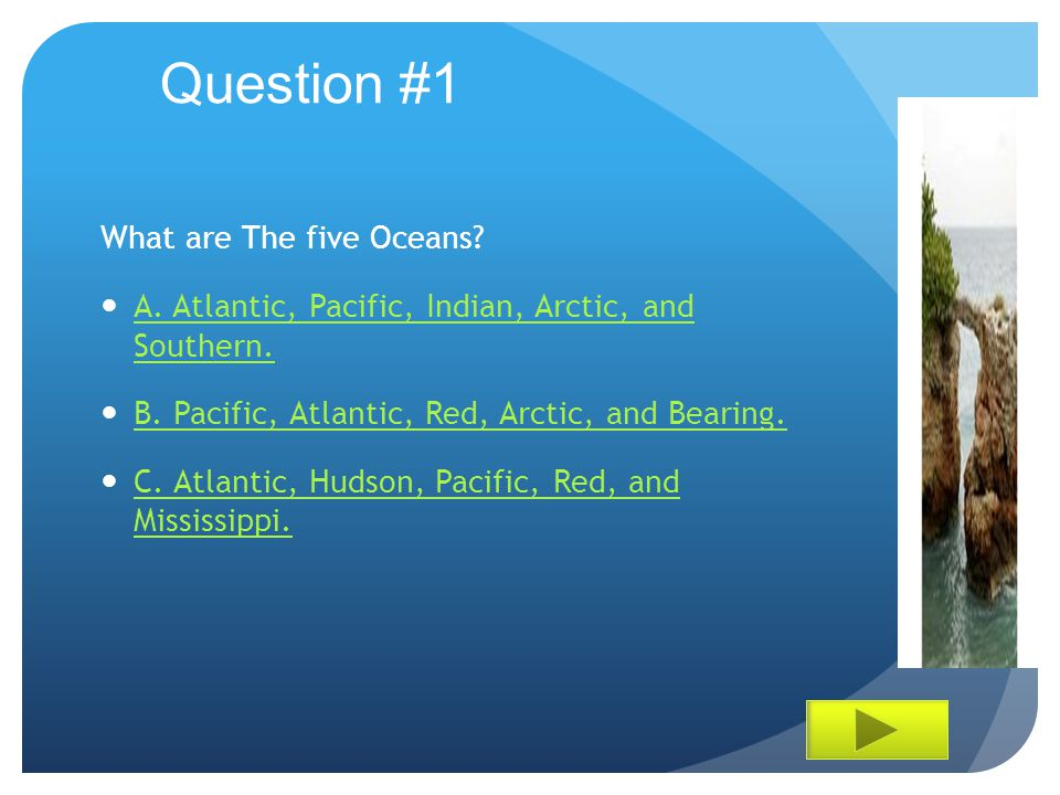 The Five Oceans By: Christine Payne. - ppt download