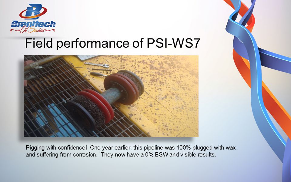 Field performance of PSI-WS7