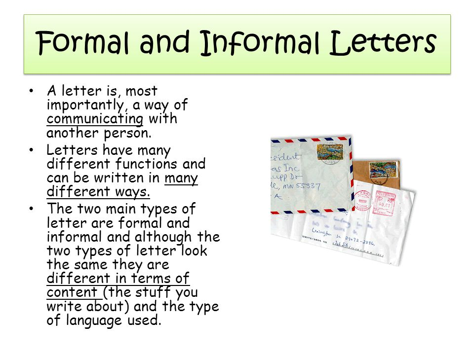 Formal and informal letters ppt video online download formal and informal letters spiritdancerdesigns Choice Image