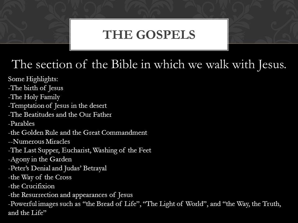 The bible taken from the bible blueprint a catholics guide to 22 the section of the bible malvernweather Choice Image
