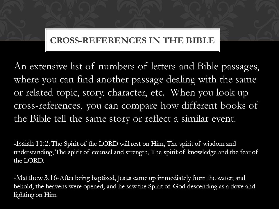 The bible taken from the bible blueprint a catholics guide to cross references in the bible malvernweather Choice Image