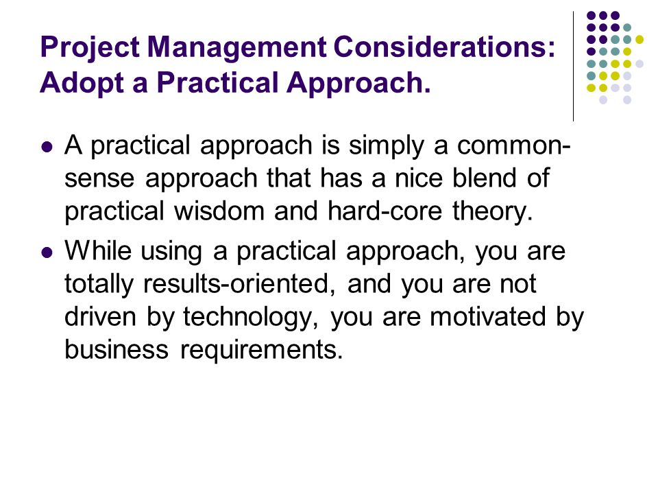 apmp practical approach to project management A practical guide to project planning lays out a sensible process for planning   qualifications from the association for project management (apm), project.
