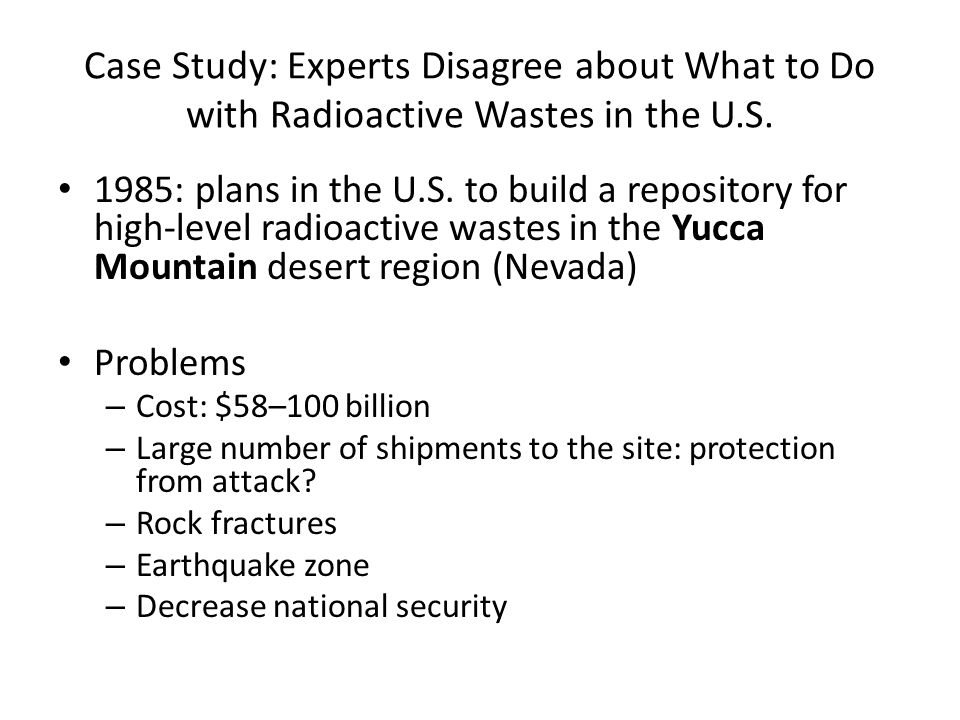 an analysis of the radioactive wastes 17 waste management in a radioanalytical  waste management in a radioanalytical laboratory  the analytical method selected for the analysis of radioactive.