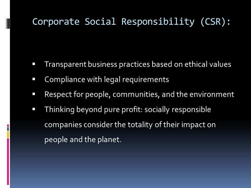 ethical and socially responsive business Research into corporate social responsiveness began in the usa in the early   ethics-based approach that held sway in the business and society discipline.