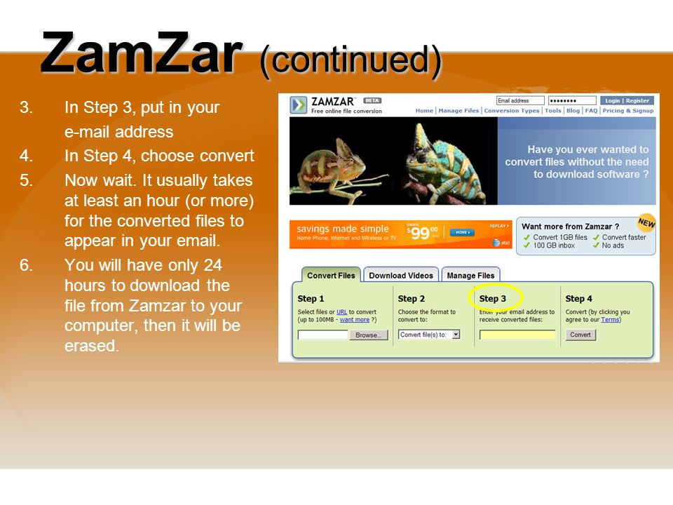 Video clips how to download and convert video clips from the web 15 zamzar ccuart Images