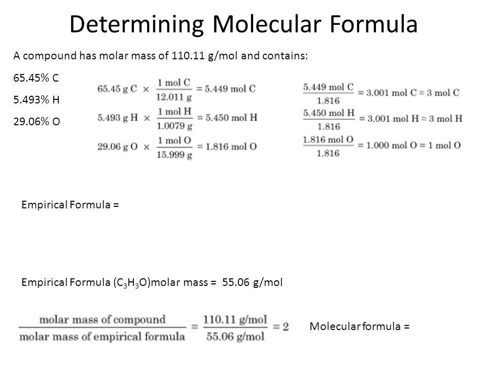 Section 3.2 Stoichiometry and Compound Formulas - ppt ...